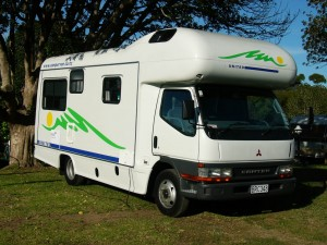 The vehicle we hired in NZ - it was brand new, we were the 1st users.
