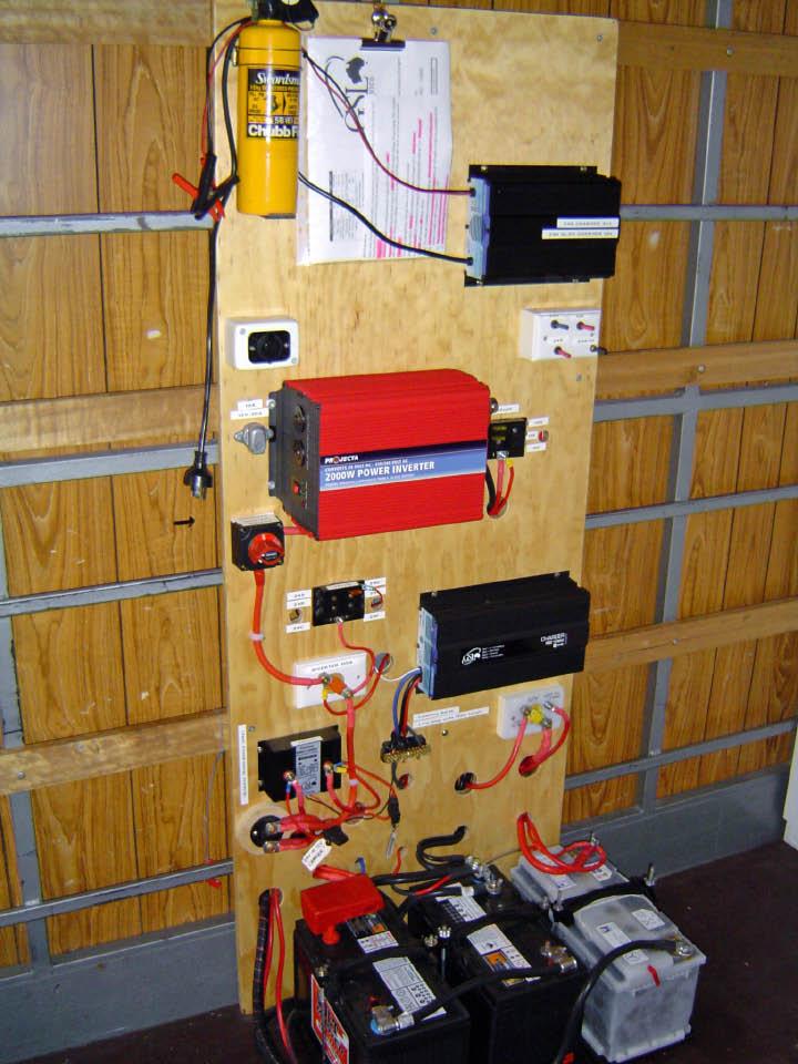 Truck Power Board