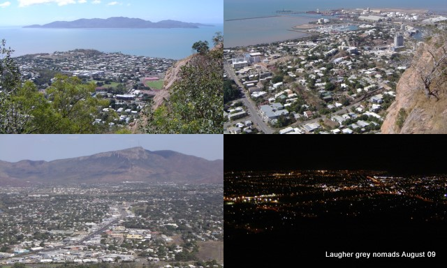 Selection of views from Castle Hill