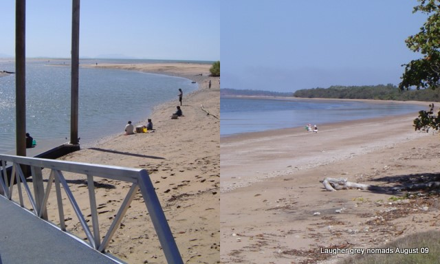 Fishermans Landing and Balgal Beach - north of Townsville.