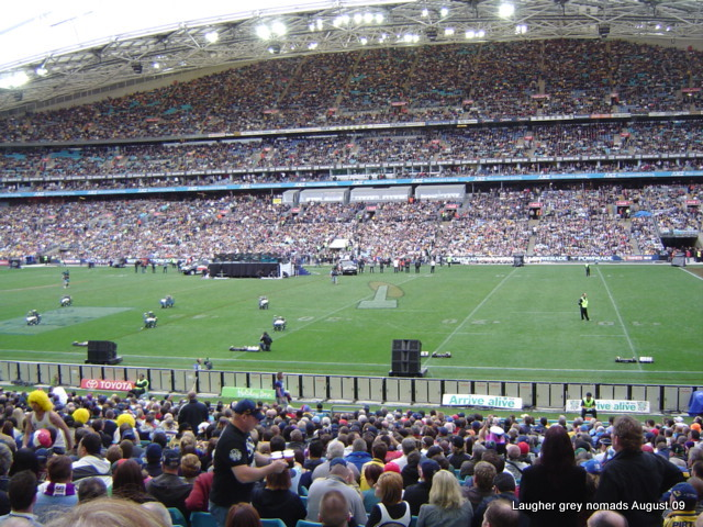 NRL GF 2009 - a memorable Stormy night